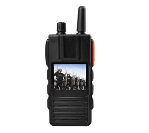 Walkie Talkie Body Camera with 2 Way Audio 3/4G Police Body Camera with intercom Camera Support Live Streaming Monitor