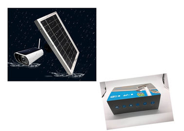 China 4G Solar batteries camera with 2 way audio and real time function . factory